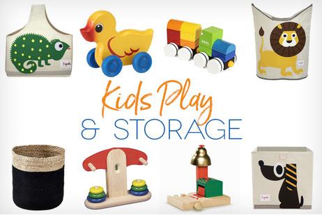 Kids Play & Storage