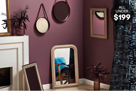 Mirrors under $199