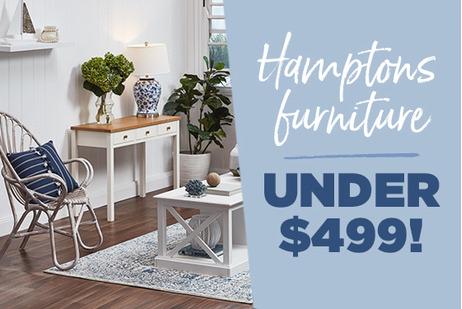 Hamptons living under $499