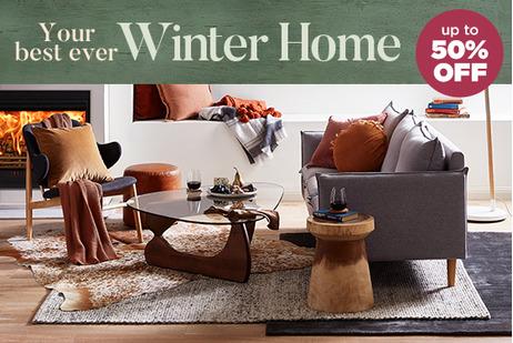 Winter Home - Living Room