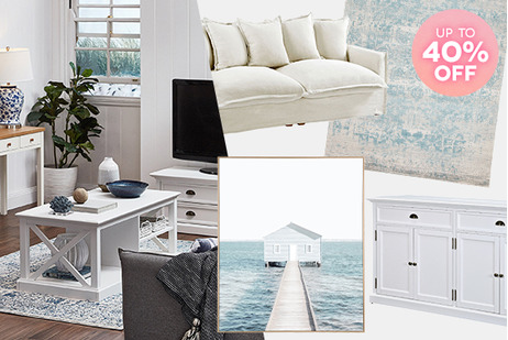 Hamptons Living on Sale