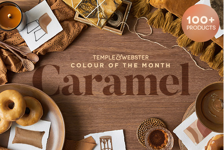 Colour Of The Month - Caramel