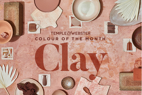 Colour of the month - Clay