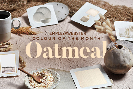 Colour Of The Month - Oatmeal