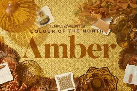 Colour of the month - Amber
