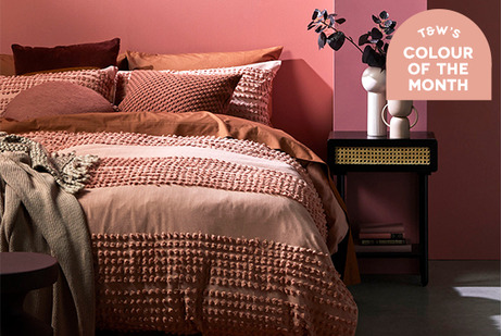 Colour of the month - Pink Clay