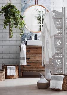 Bohemian bathroom retreat