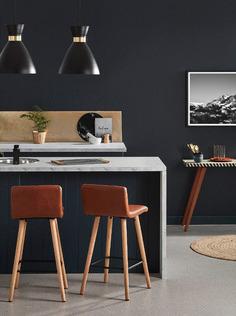 Modern tan kitchen