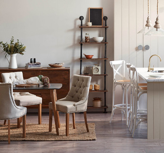 Classic French Provincial kitchen dining