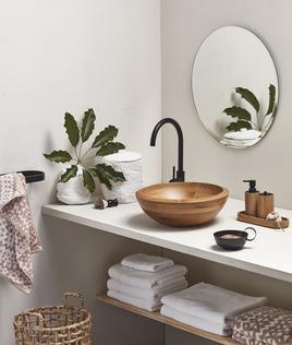 Fresh bathroom update