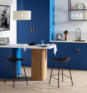 Bold & The Blue Kitchen Trends