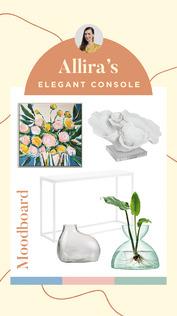 Allira's Elegant Console