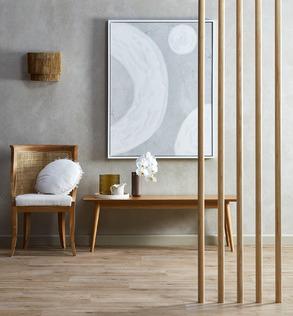 Raw & Refined hallway seating