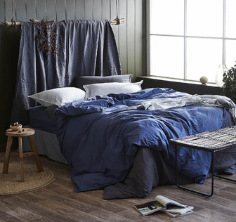 Blue Country Bedroom
