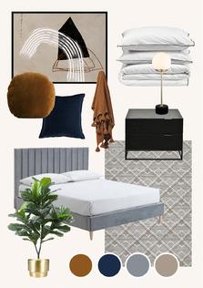 Rich Modern Bedroom