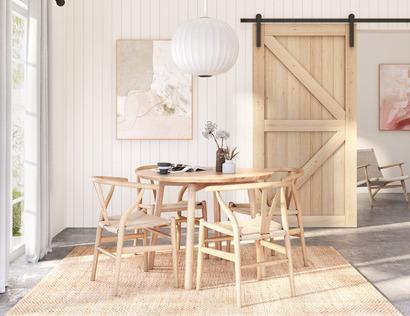 Scandi Inspired Farmhouse Living Room