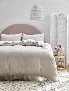 Soft & Feminine Seaside Bedroom
