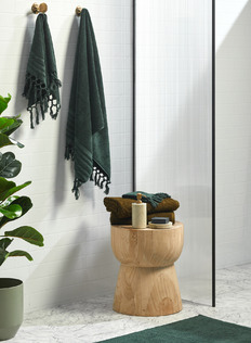 Green & Timber Bath