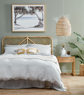 Timber & Rattan Bedroom