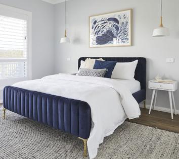 Bright & Smooth Bedroom