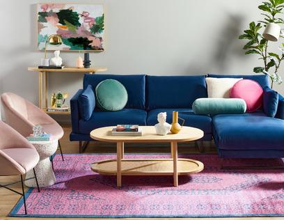 Retro Casual Living Room