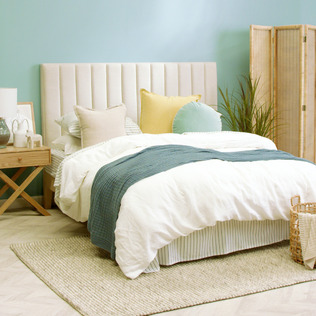 Beachside Blues Bedroom