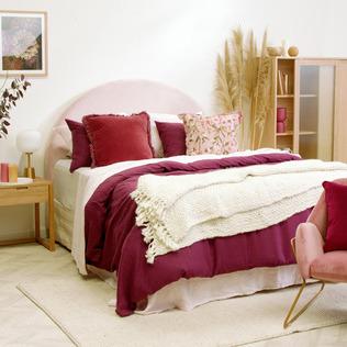 Berry Boudoir Bedroom