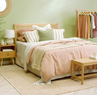 Relaxed Rattan Bedroom