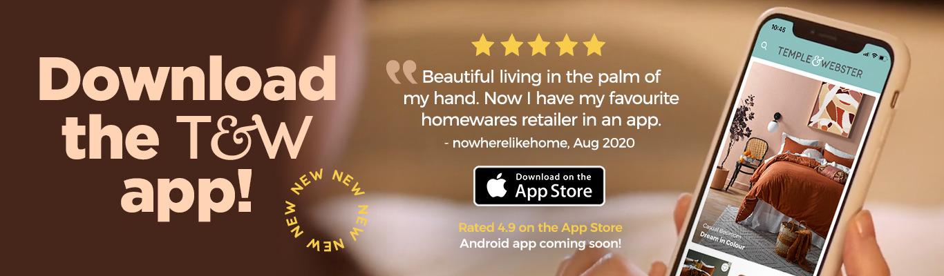 Download the Temple & Webster app