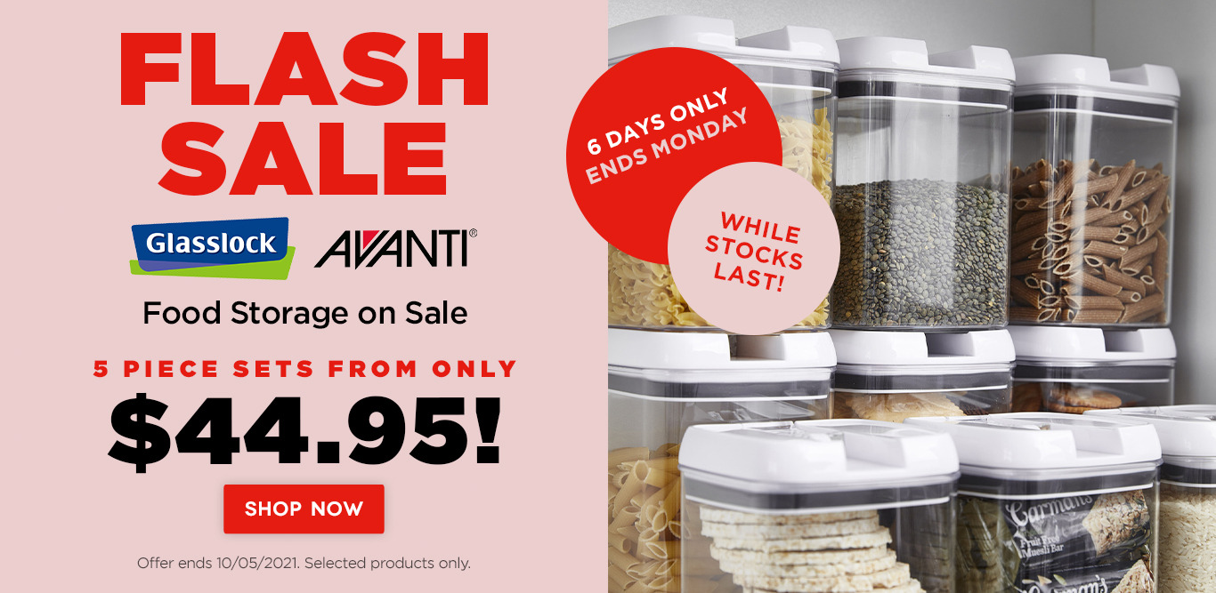 Food storage on sale. Sets from only $44.95