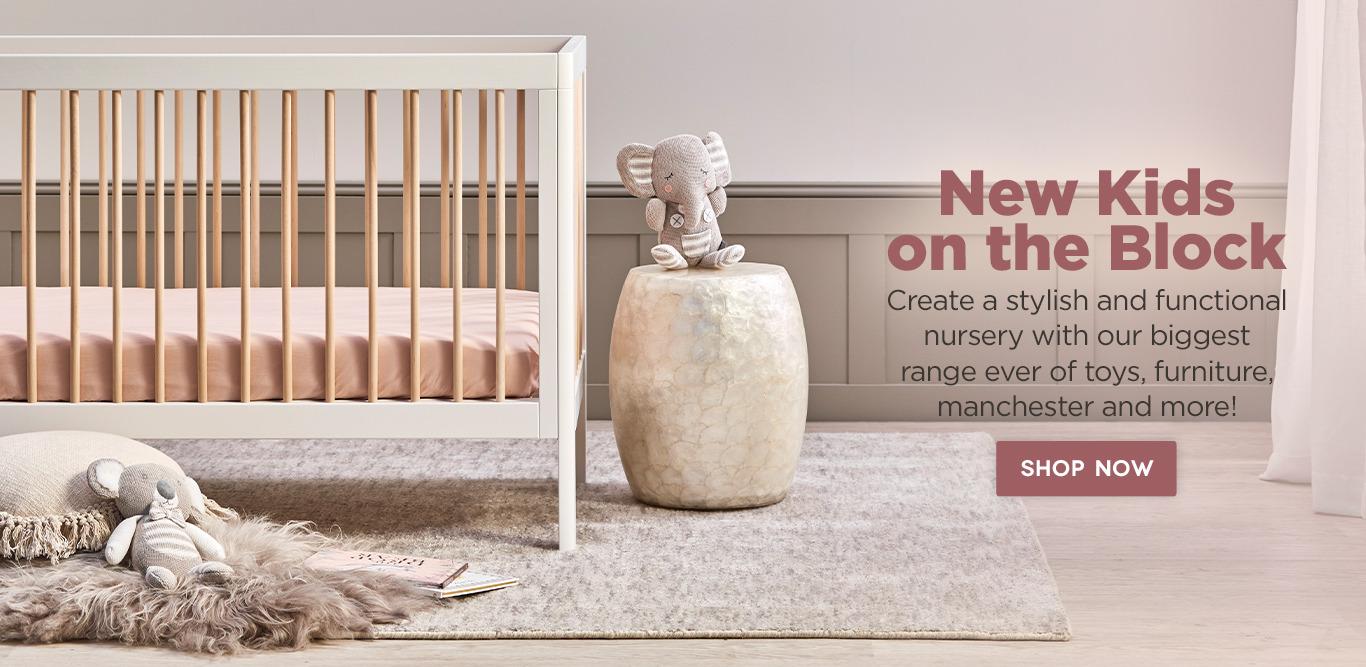 Kids neutral toned nursery