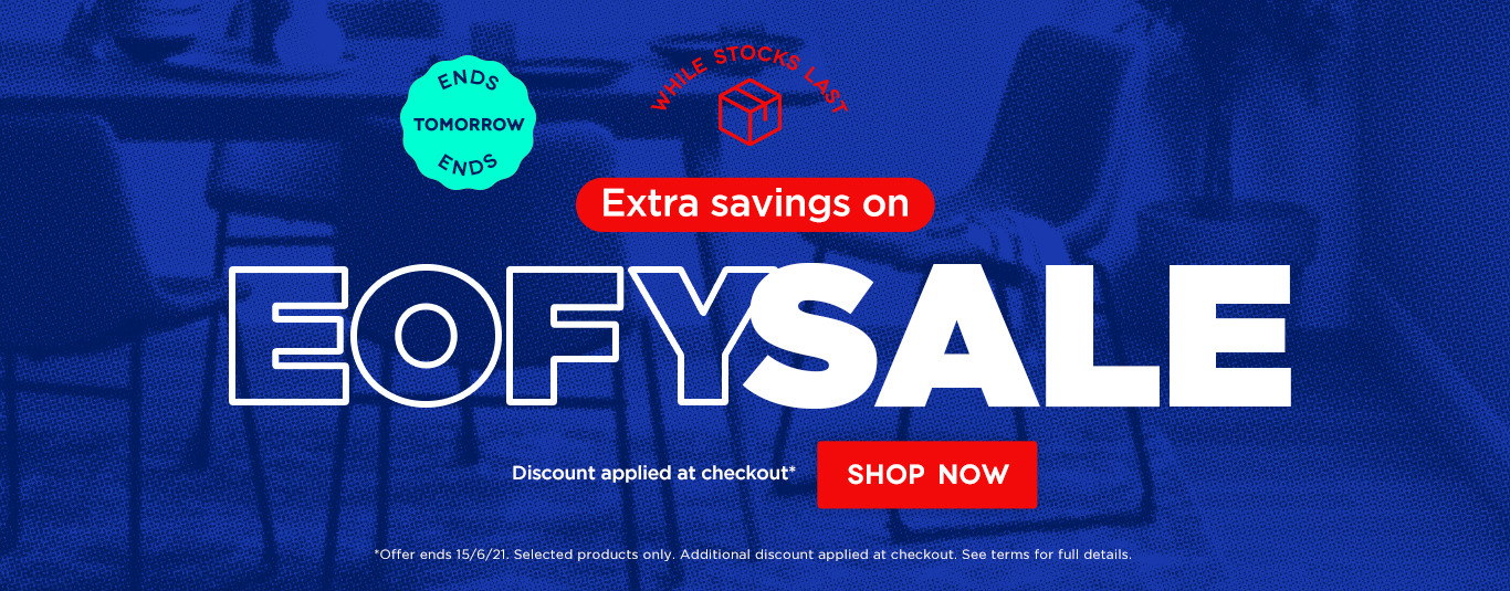 Extra savings on end of financial year sale