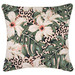 Escape to Paradise Piped Edge Tropical Jungle Outdoor Cushion