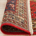 Network Rugs Red & Blue Wool Persian Abadeh Rug