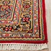 Network Rugs Red & Gold Wool Indian Rug