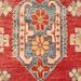 Network Rugs Red & Yellow Wool Kazak Rug