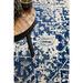 Network Rugs Bone, White & Navy Art Moderne Cezanne Rug