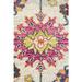 Network Rugs Multi-coloured Wildflower Vintage Look Rug