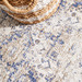 Network Rugs Ocean Blue Vintage Look Rug