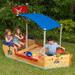 KidKraft Pirate Boat Sandbox