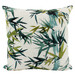 Nicholas Agency & Co Organic  Bamboo Leaves Linen-Blend Cushion