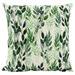 Nicholas Agency & Co Cascading Greens Linen-Blend Cushion