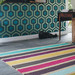 Brink & Campman Hues Striped Hand-Tufted Wool Rug