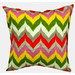 Bungalow Living Carousel Chevron Outdoor/Indoor Cushion