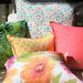 Bungalow Living Aqua & Green Rainforest Outdoor Cushion