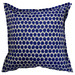 Bungalow Living Blue & White Spot Outdoor Cushion