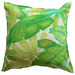 Bungalow Living Bright Green Rainforest Outdoor Cushion