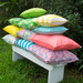 Bungalow Living Watermelon Pink Outdoor Cushion