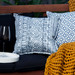 Bungalow Living Indigo Batik Outdoor Cushion