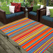 Ground Work Rugs Modern Outdoor Rug Chatai in Multi